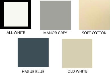 ALL WHITE OLD WHITE SOFT COTTON MANOR GREY HAGUE BLUE